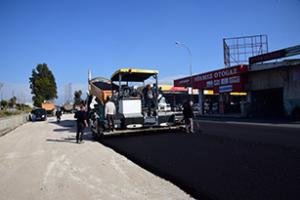 sanayi cami önü ana cadde asfaltlandı (5)