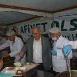 başkan kara, ilk iftarı çadırda yaptı (14)