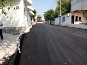 belediyenin asfalt çalışması