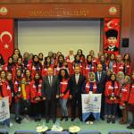 Damla Projesi Gönüllülerinden Vali Coşkun'a Ziyaret