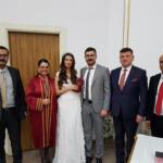 Başhekim Yardımcısı Çam, evliliğe adım attı
