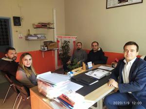Türk Eğitim-Sen Hasanbeyli İlçe Temsilciliği'nde görev değişimi